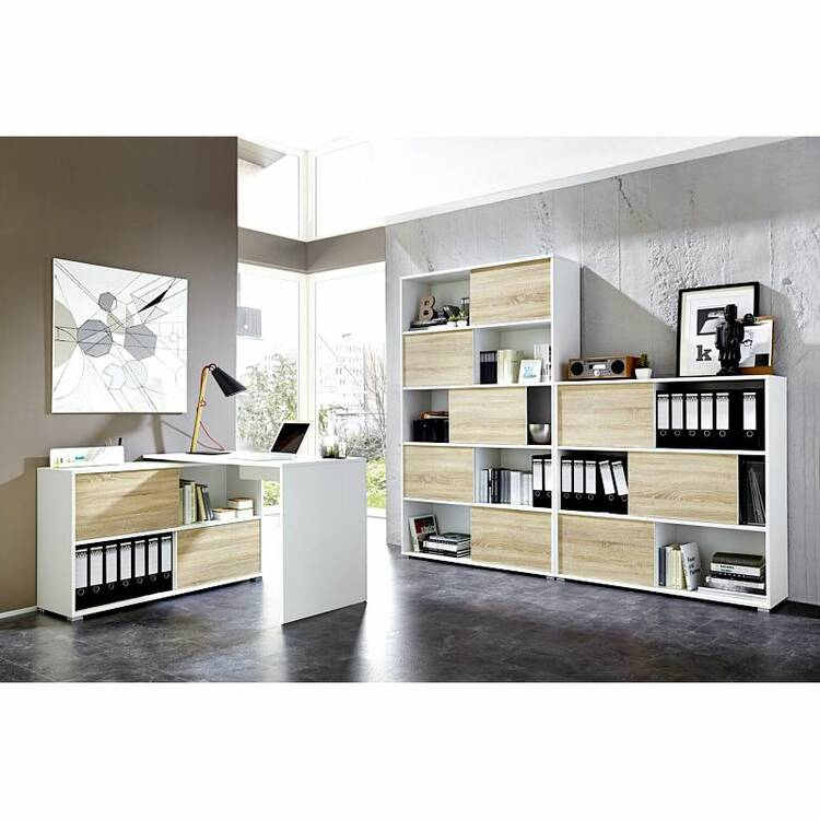b rom bel set 3 teilig manhatten 01 wei sonoma eich. Black Bedroom Furniture Sets. Home Design Ideas