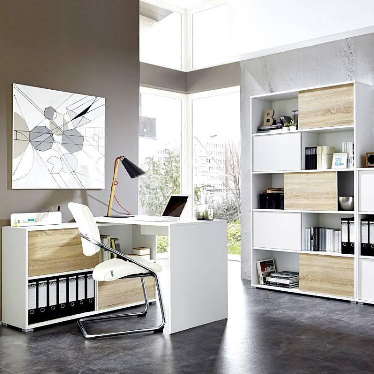 b rom bel set 2 teilig manhatten 01 wei sonoma eich. Black Bedroom Furniture Sets. Home Design Ideas