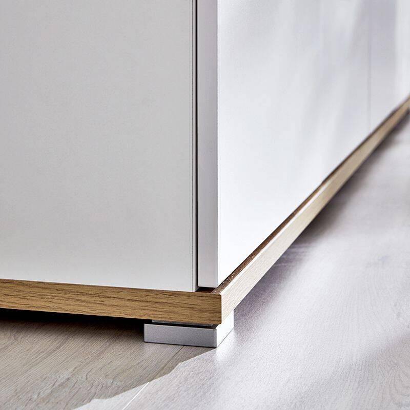 kommode dakota 01 wei navarra eiche nb 96. Black Bedroom Furniture Sets. Home Design Ideas
