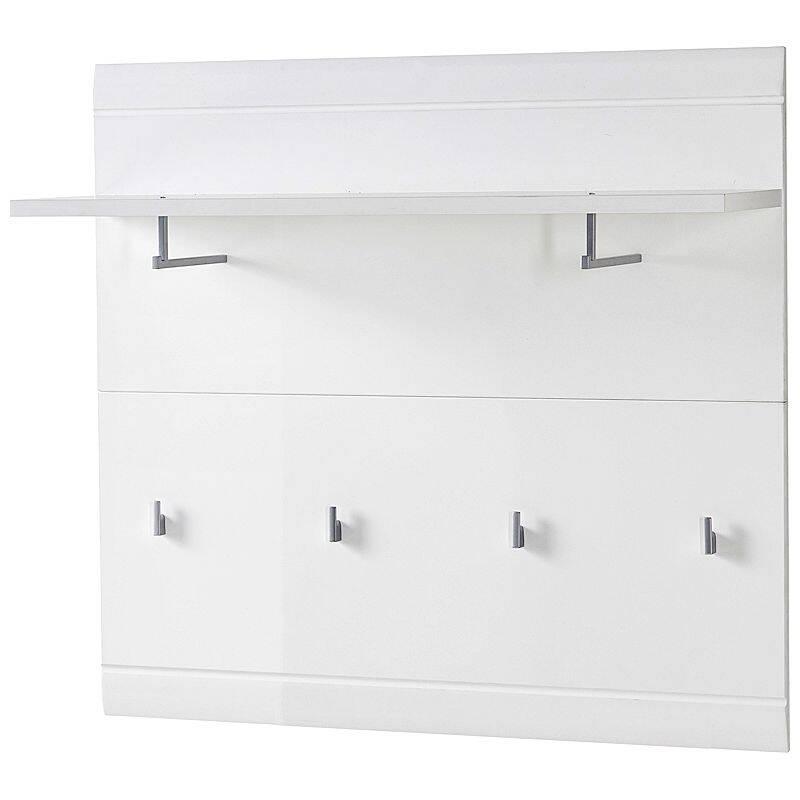 garderobenpaneel danaro 01 96x90x31cm hochglanz wei s. Black Bedroom Furniture Sets. Home Design Ideas
