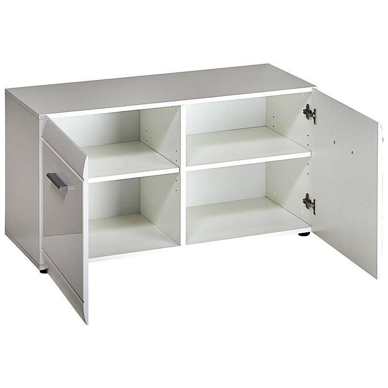 garderoben set danaro 01 hochglanz wei 4 teilig. Black Bedroom Furniture Sets. Home Design Ideas