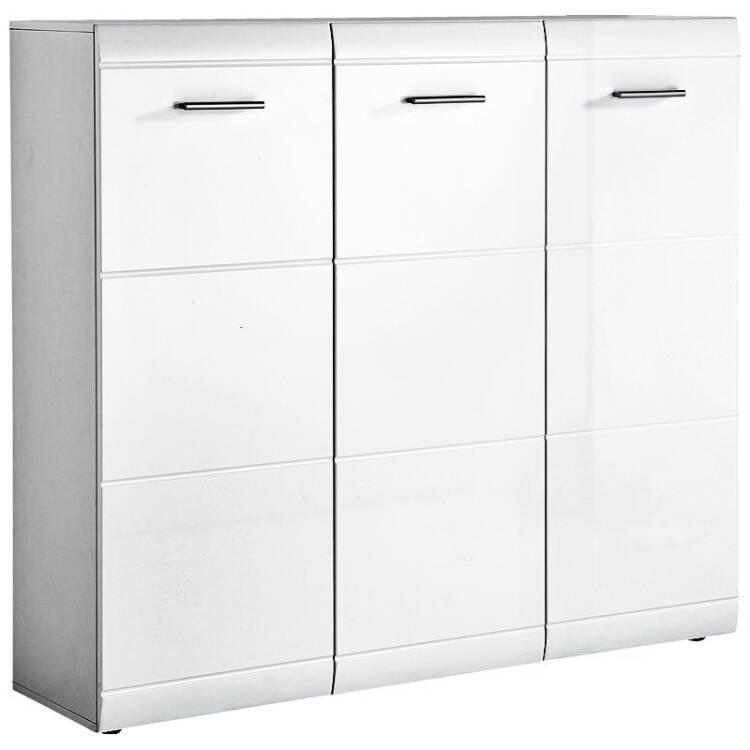 garderoben set danaro 01 hochglanz wei 2 teilig b. Black Bedroom Furniture Sets. Home Design Ideas