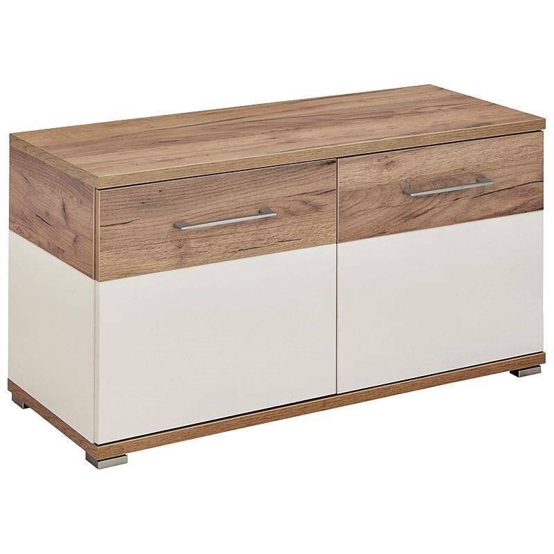 garderoben set dakota 01 wei navarra eiche nb. Black Bedroom Furniture Sets. Home Design Ideas