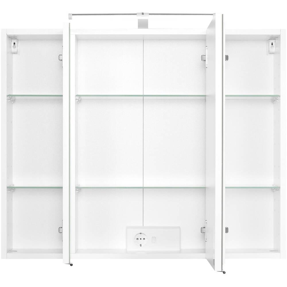 waschtisch spiegelschrank set bergamo 03 wei s. Black Bedroom Furniture Sets. Home Design Ideas