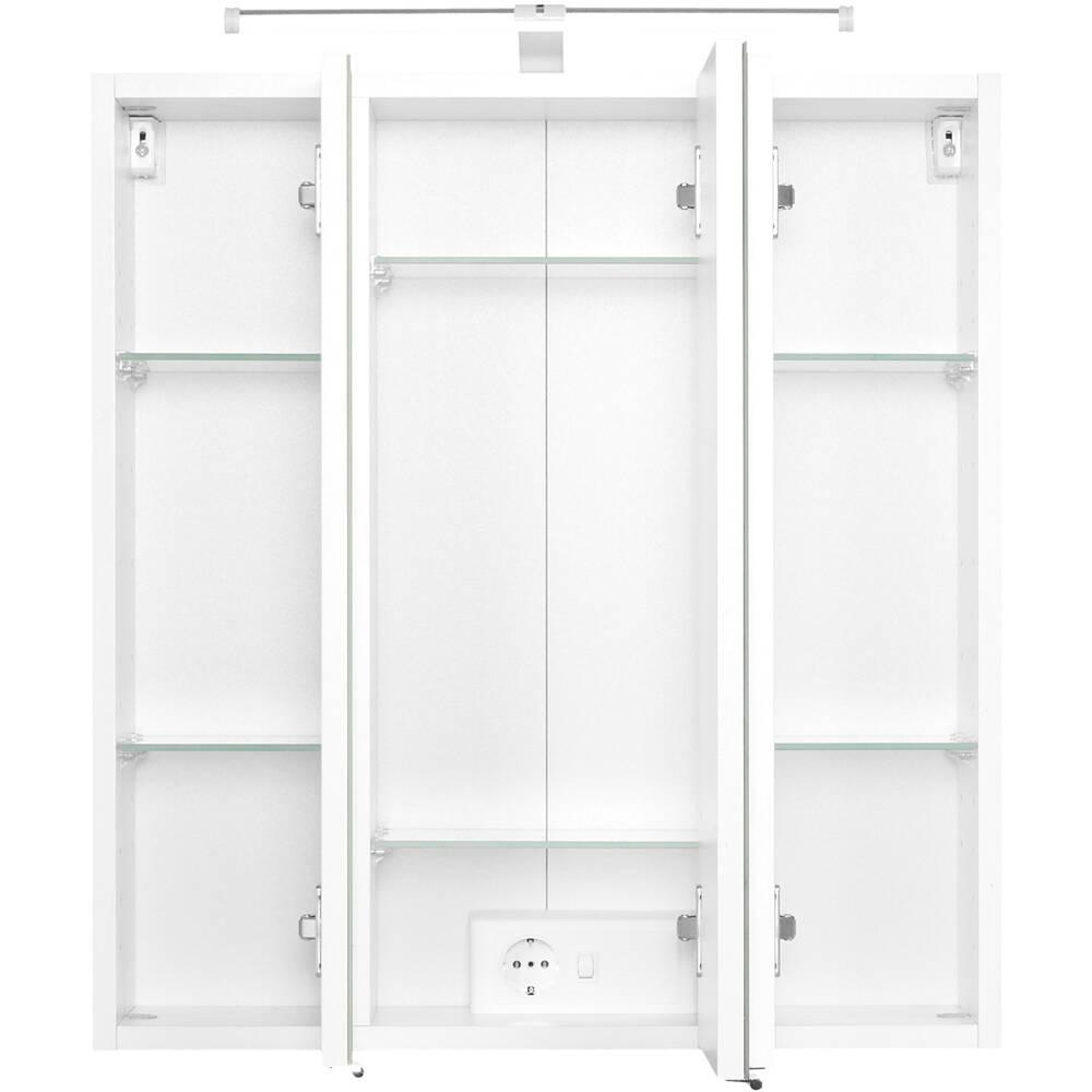 badm bel set bergamo 03 5 teilig wei b x. Black Bedroom Furniture Sets. Home Design Ideas