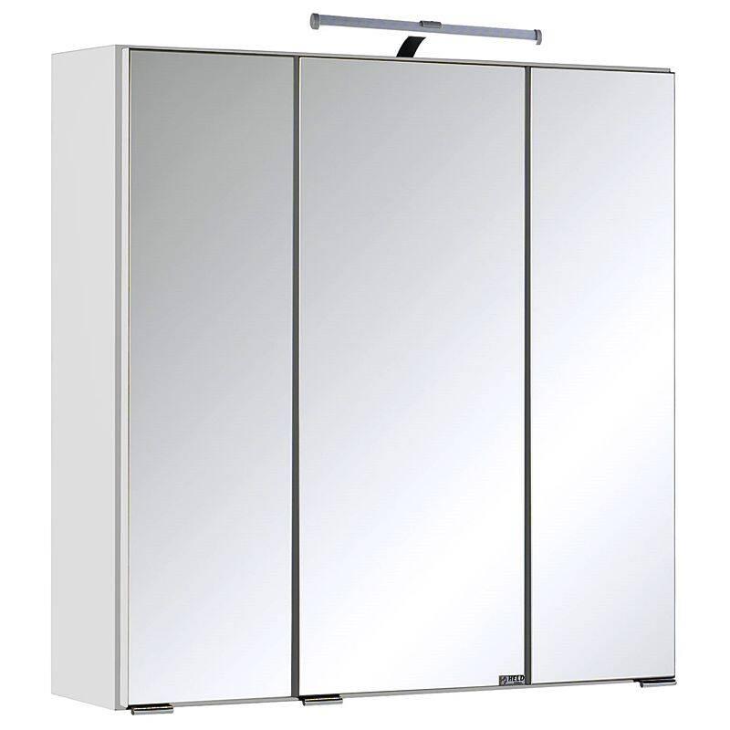 Spiegelschrank COMO-03, weiß, B x H x T ca.: 60 x 64 x 20cm