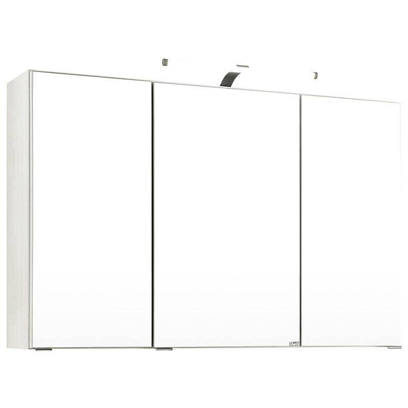 Spiegelschrank COMO-03, weiß, B x H x T ca.: 100 x 64 x 20cm