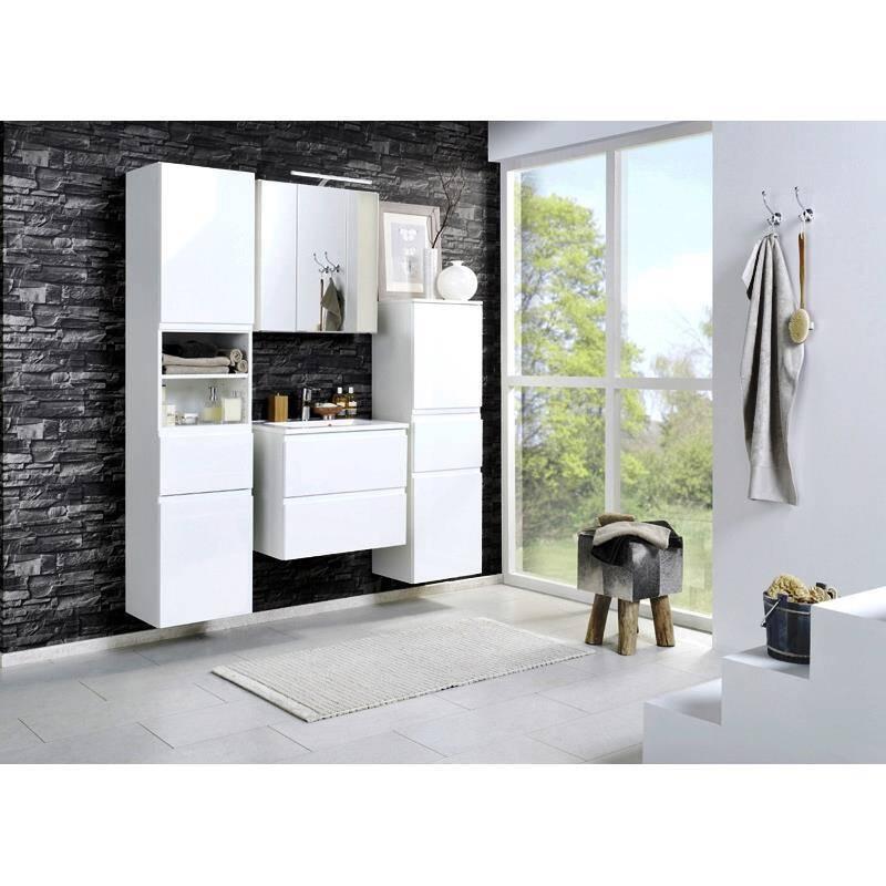 waschtisch como 03 hochglanz wei b x h x t c. Black Bedroom Furniture Sets. Home Design Ideas