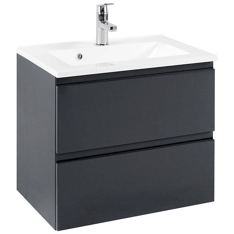 badm bel set como 03 5 teilig hochglanz grau 60c. Black Bedroom Furniture Sets. Home Design Ideas