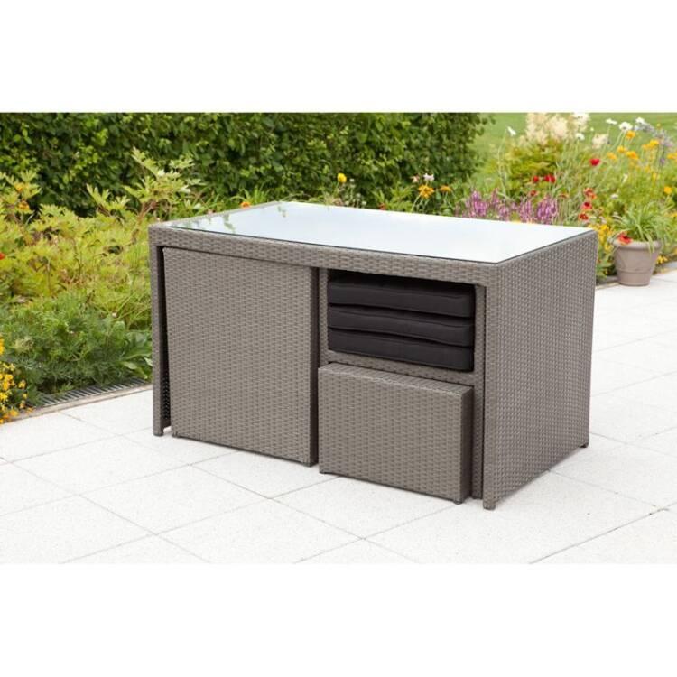 Gartenmöbel Set Umbria-29 Stahl, Kunststoffgefle