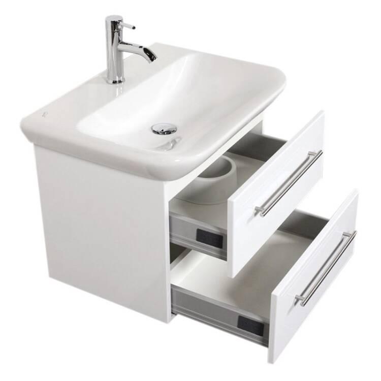 Waschtisch Unterschrank Mit 65cm Keramikbecken Keramag Myday B H T 65
