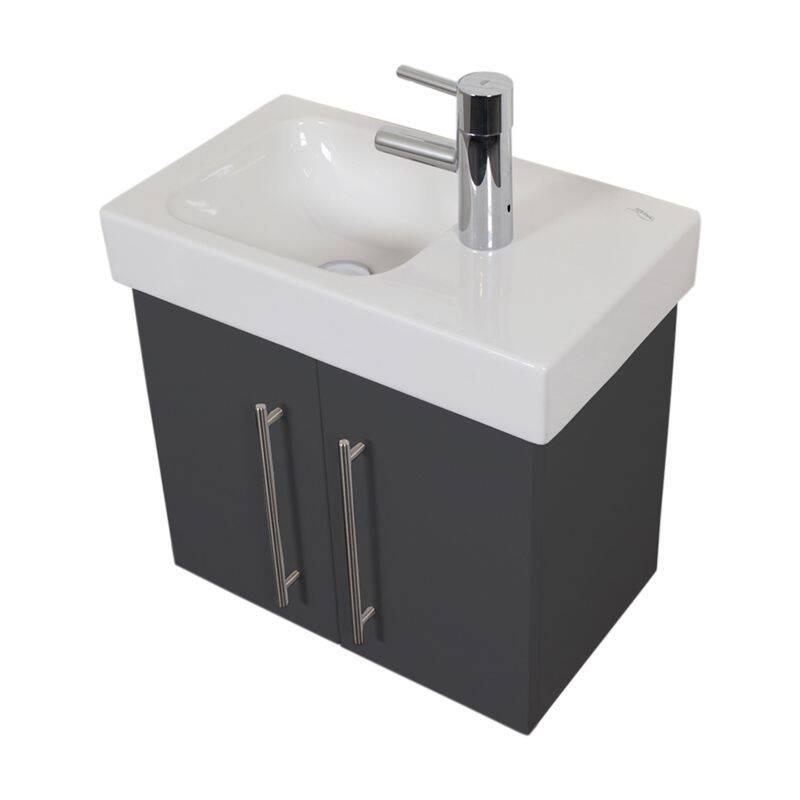 Waschtisch mit keramikbecken keramag icon xs seidengl - Keramag waschbecken icon ...