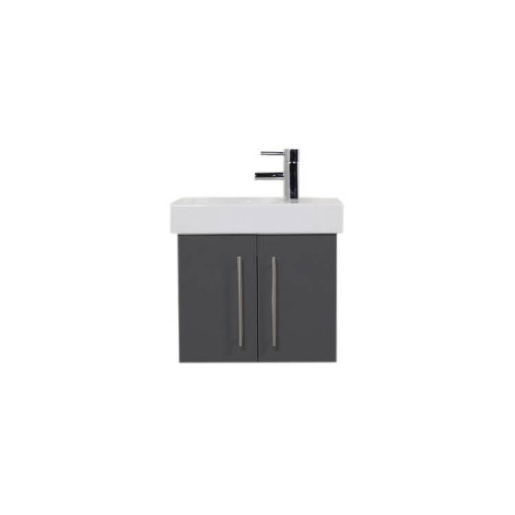waschtisch mit keramikbecken keramag icon xs seidengl. Black Bedroom Furniture Sets. Home Design Ideas