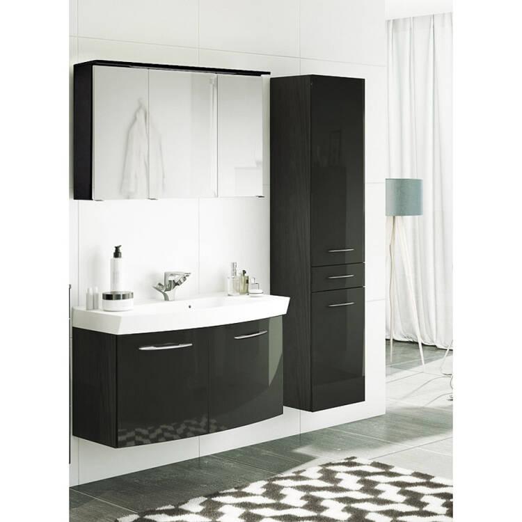 badm bel set florido 03 hochglanz grau waschtisch mi. Black Bedroom Furniture Sets. Home Design Ideas