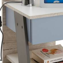 Childrens room Night console boys LEEDS-10 with drawer,...