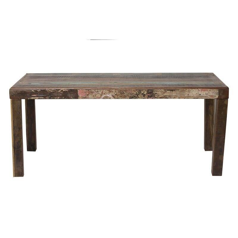 Tisch FRIDGE-14 140x90x76cm bunt Altholz lackiert