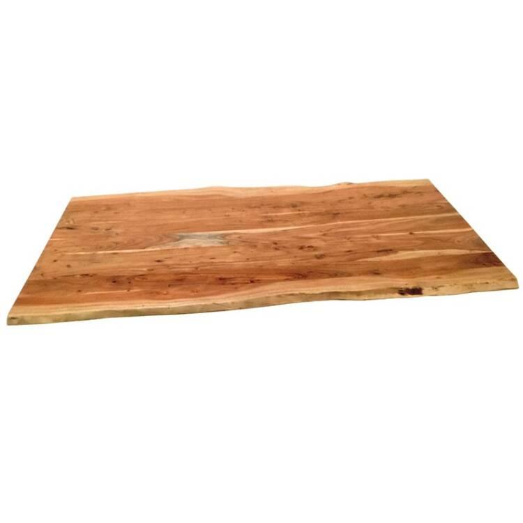 Tischplatte Tops Tables 14 200x100x56cm Natur Akazie Massiv Gebeizt