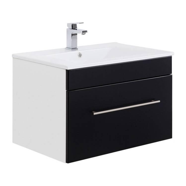 badm bel waschtisch mit keramik waschbecken 75cm lago. Black Bedroom Furniture Sets. Home Design Ideas