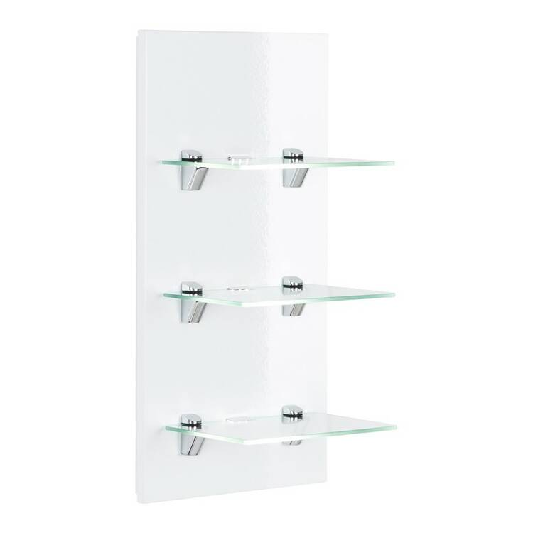 Badezimmer led panel lagos 02 mit 3 glasablagen hochg - Led panel badezimmer ...