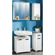 Bathroom furniture hanging cabinet CAEN-04 with door and...