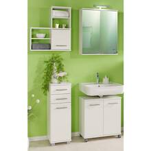 Bathroom Furniture Highboard ANZIO-04 Door and 2 drawers,...