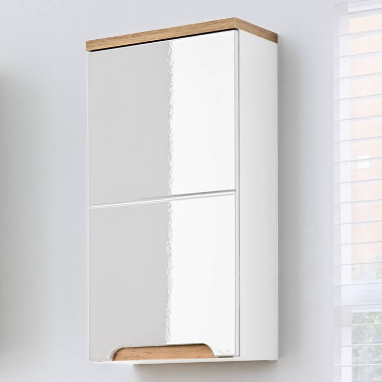 badezimmer h ngeschrank solna 56 hochglanz wei b x h x. Black Bedroom Furniture Sets. Home Design Ideas