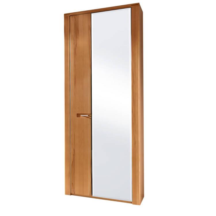Garderobenmöbel Set Mit Spiegel Dielenschrank Dawson 36 Fronten Kernbuche Massiv Bht 268x200x40cm