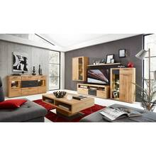 Living room wall set 6 pcs incl. sideboard coffee table...
