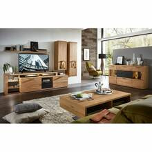 Living room complete set BOZEN-36 incl. LED lighting Wild...