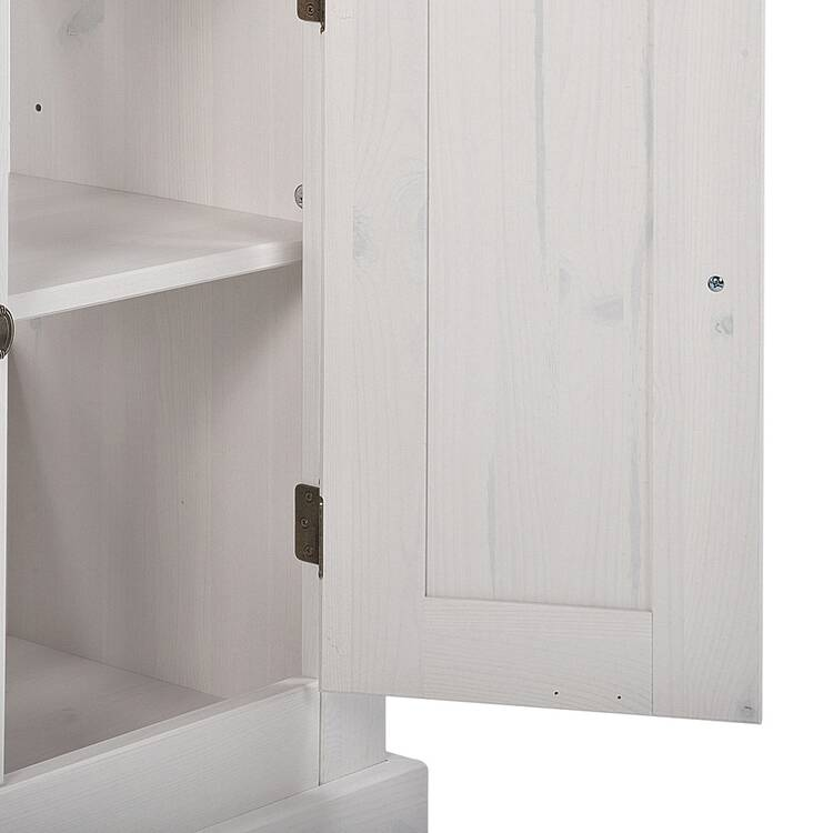 landhaus waschtisch inkl keramik waschbecken 85 cm l. Black Bedroom Furniture Sets. Home Design Ideas
