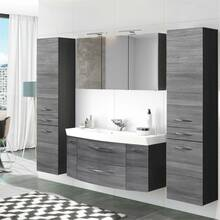 Bathroom Furniture Series FLORIDO-03 Oak Silver Smoked,...