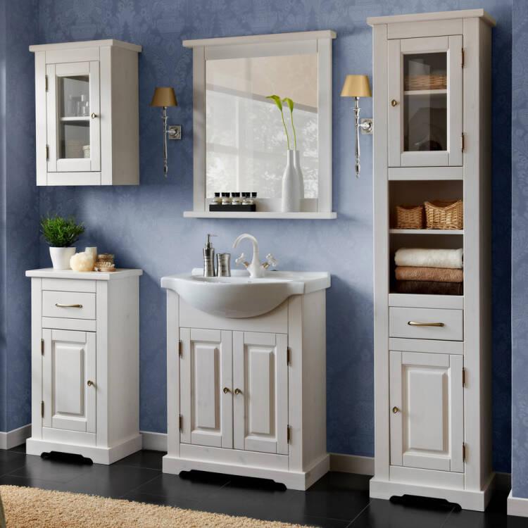 badm bel set inkl keramik waschbecken 65 cm 5 teilig. Black Bedroom Furniture Sets. Home Design Ideas