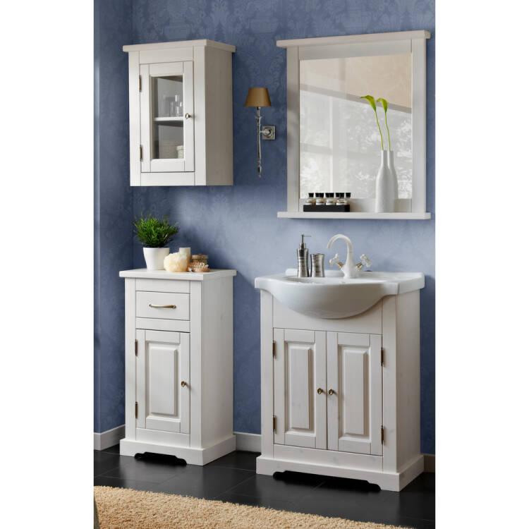 badezimmer m bel set inkl keramik waschbecken 65 cm. Black Bedroom Furniture Sets. Home Design Ideas