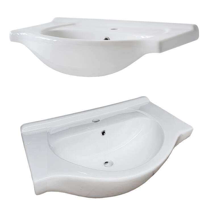 badm bel waschplatz set inkl keramik waschtisch 65 cm 2. Black Bedroom Furniture Sets. Home Design Ideas