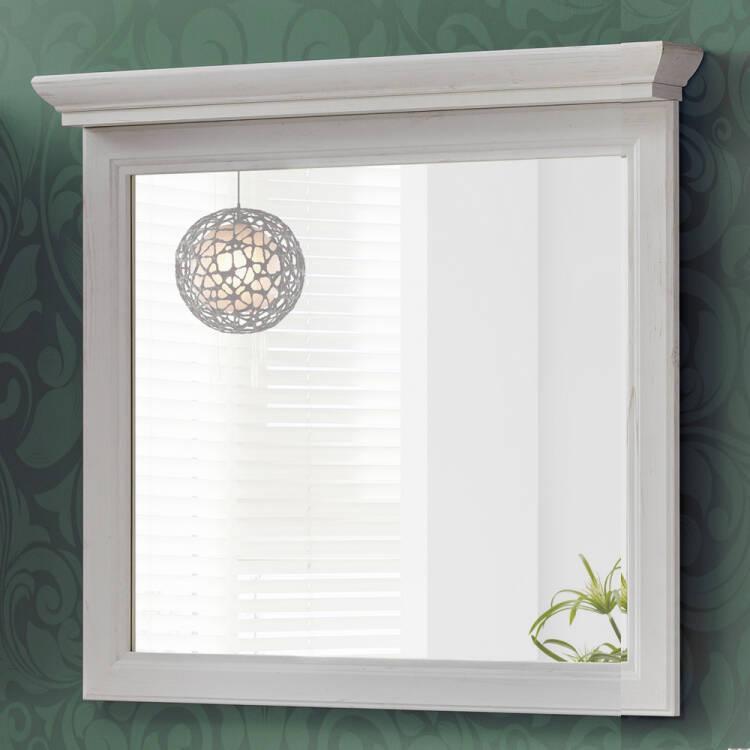 Badezimmer Spiegel 85 cm im Vintage Landhaus Design CELAYA-56, Anderse