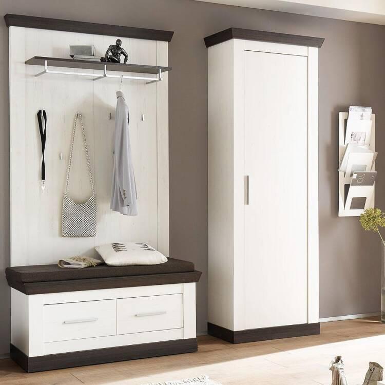 Moderne Flur Garderoben Kombi Im Landhaus Stil Salara