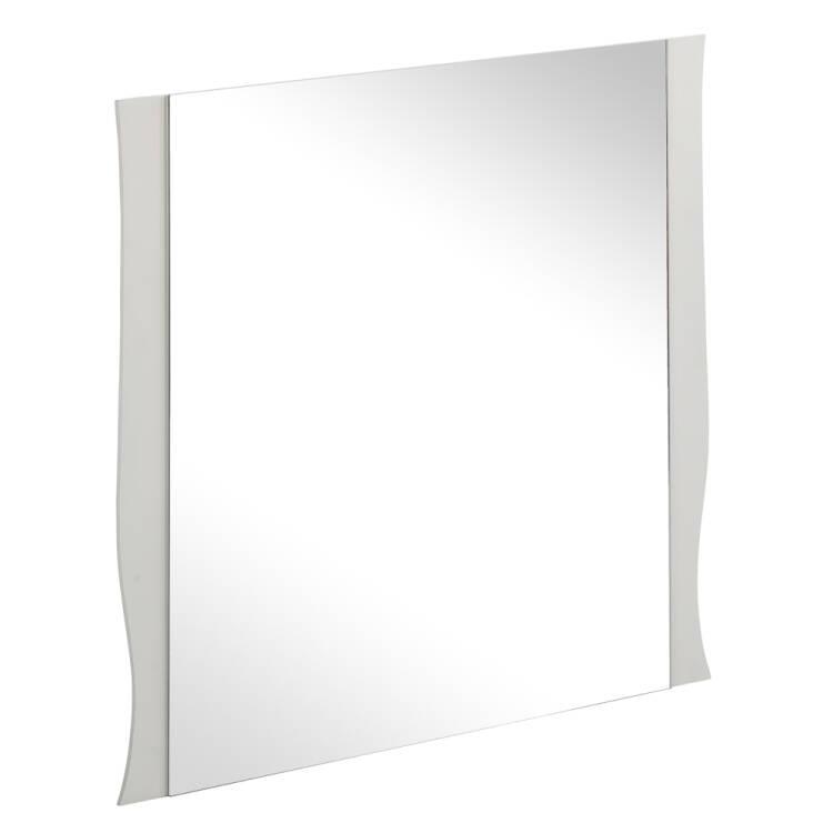 badezimmer wand spiegel 60 cm mit wei em rahmen elsa 56. Black Bedroom Furniture Sets. Home Design Ideas