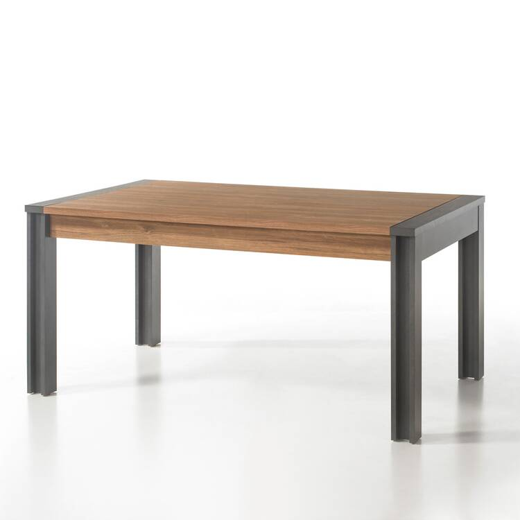 Esstisch im Industrial Stil DALLAS-61 Stirling Oak Nb. mit Matera Anthrazit B/H/T ca.: 155x76x90 cm