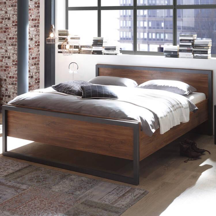 Schlafzimmer Dallas 61 Im Industrial Stil Komplett Set Dekor Stirling
