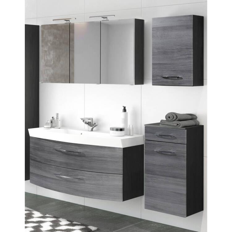 badezimmer set mit 120cm waschtisch spiegelschrank