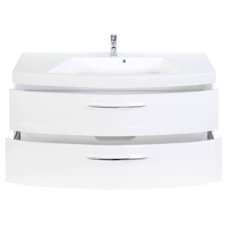Badezimmer Set Mit 120cm Waschtisch Florido 03 In Hoc
