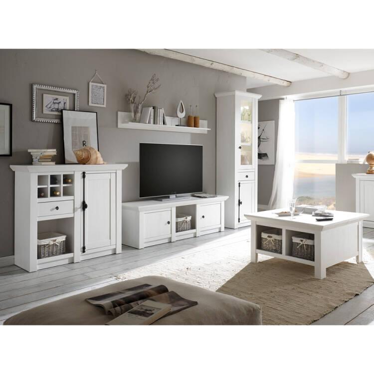 wohnzimmer wohnwand set inkl couchtisch wingst 61. Black Bedroom Furniture Sets. Home Design Ideas