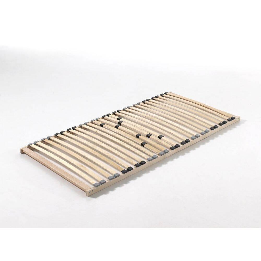 Lattenrost 90x200cm mit 26 Schichtholzfederleisten und Härteverstellung für Betten mit Liegefläche BxHxT: 200x7x90cm