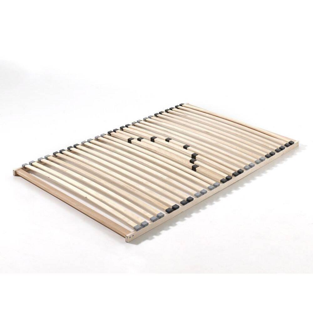 Lattenrost mit 26 Schichtholzfederleisten und Härteverstellung für Betten mit Liegefläche 120x200cm BxHxT: 200x7x120cm