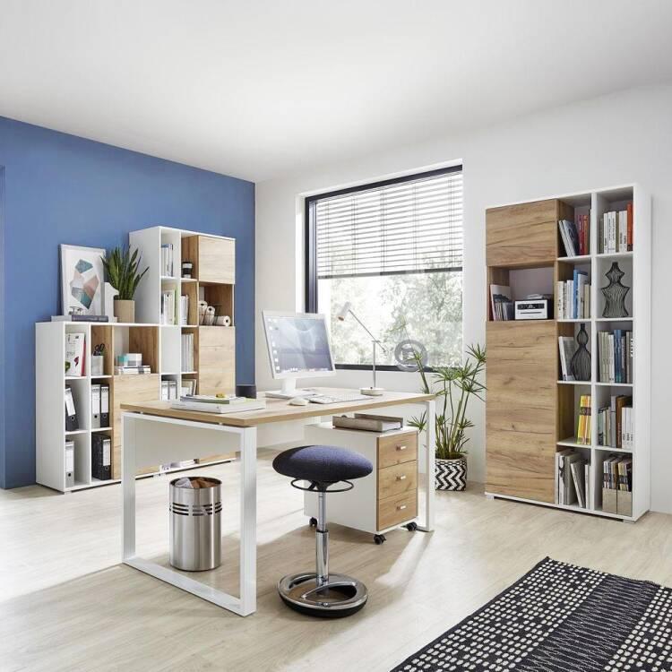 Büro Schreibtisch Weiß 2021