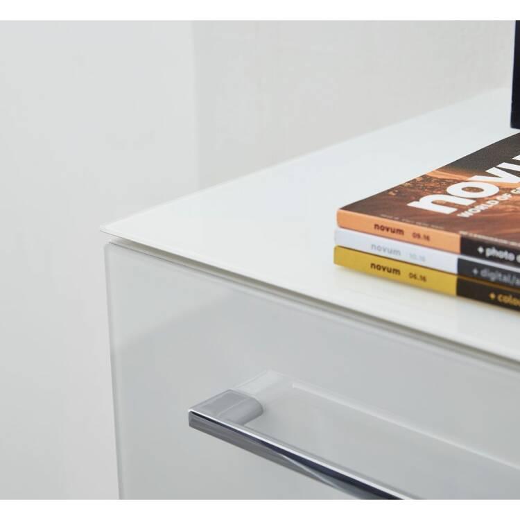 Design Buromobel Set Mit Weissen Glasfronten Montero 0