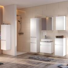 Bathroom Furniture Series ARLON-03 matt white Self assemble