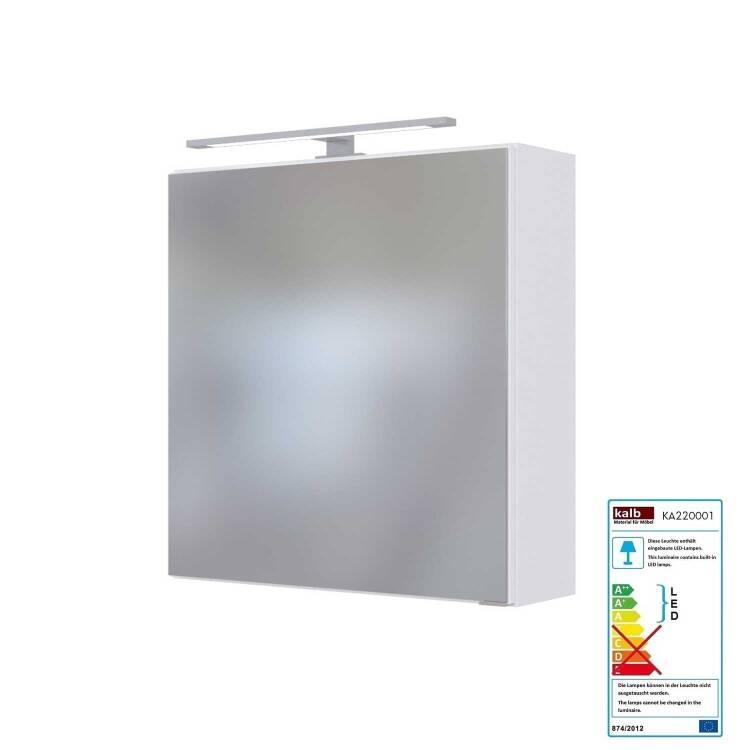 Gut gemocht Badmöbel LED Spiegelschrank 60 cm TAREE-03 YN26