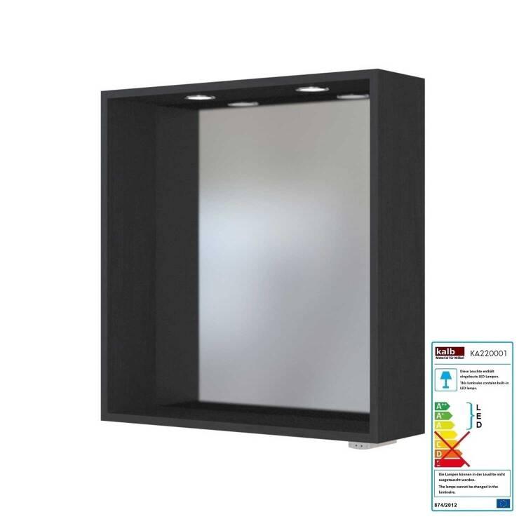 Badezimmer Spiegelpaneel mit Touch LED Einbauleuchten