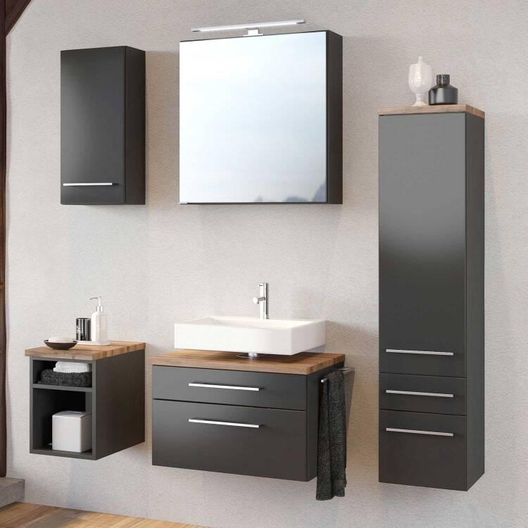 Badezimmer Unterschrank Regal TAREE-03 - lomado - Ein